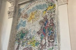 A Chagall mosaic