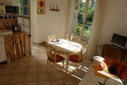 Monet-Wohnküche