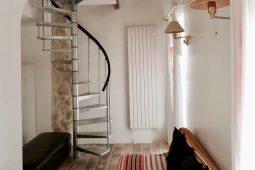 Soleil-Wohnzimmer-Wendeltreppe
